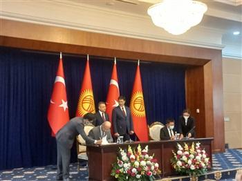 Türkiye ile Kırgız Cumhuriyeti Arasında Helal Kalite Altyapısı Alanına İlişkin İş Birliğine Dair Mutabakat Zaptı İmzalandı